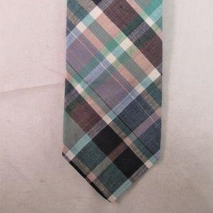Vintage Brooks Brothers. Cotton Plaid Tie